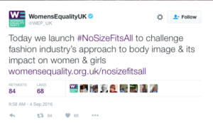Womens Equality Party London Fashion Week