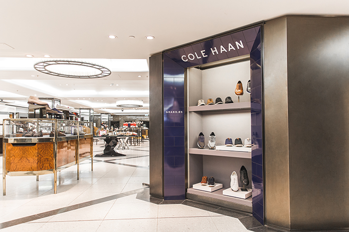 7a94498ac90 Premium US footwear and lifestyle brand Cole Haan is continuing its  roll-out to some of the most prestigious UK department stores with its