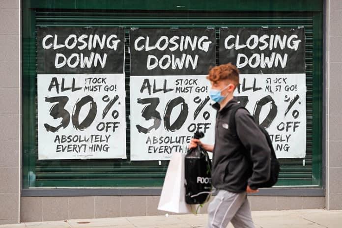 Retail shop vacancies