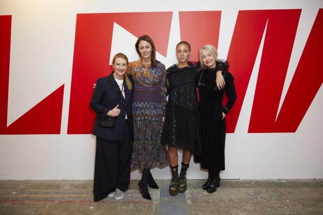 Anya Hindmarch, Caroline Rush, Adwoa Aboah & Justine Simons