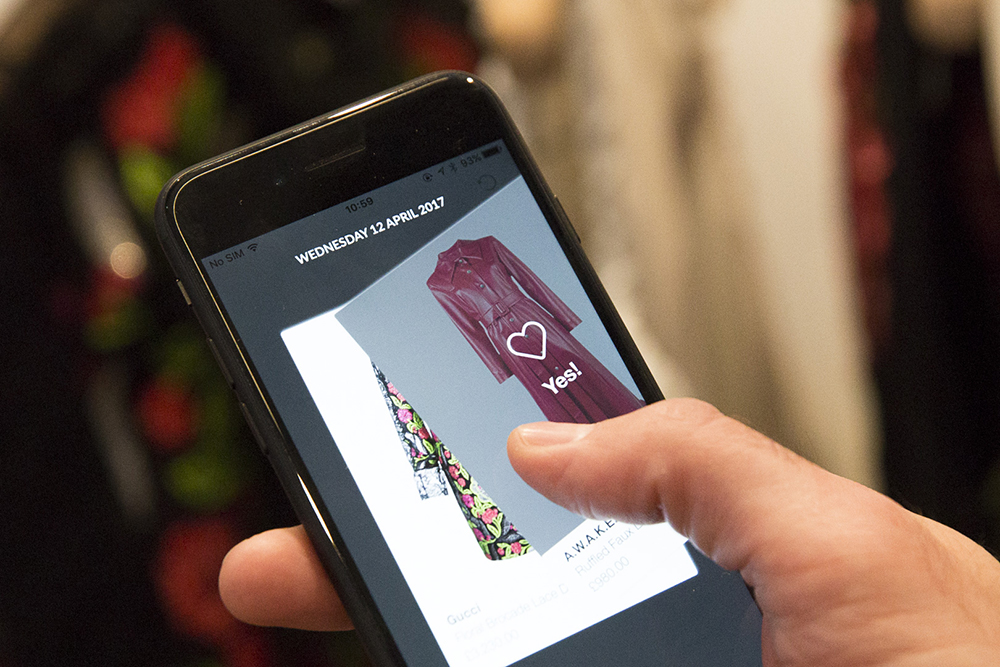 Mobile at the centre of Farfetch's Store of the Future