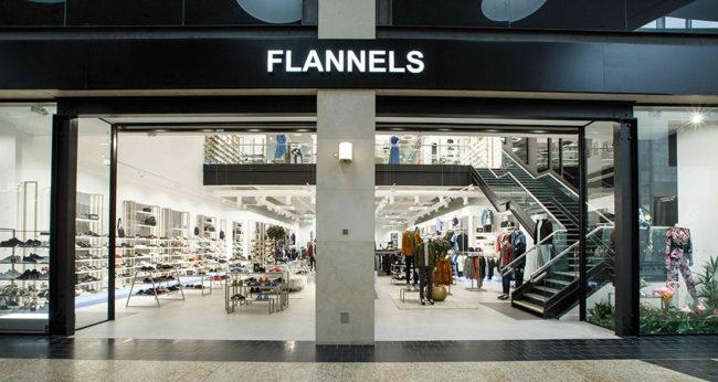 Flannels in Silverburn, Glasgow
