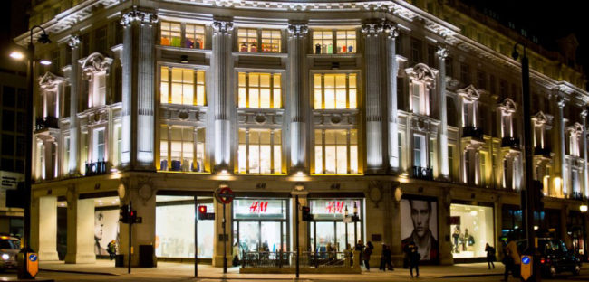 H&M Oxford Circus