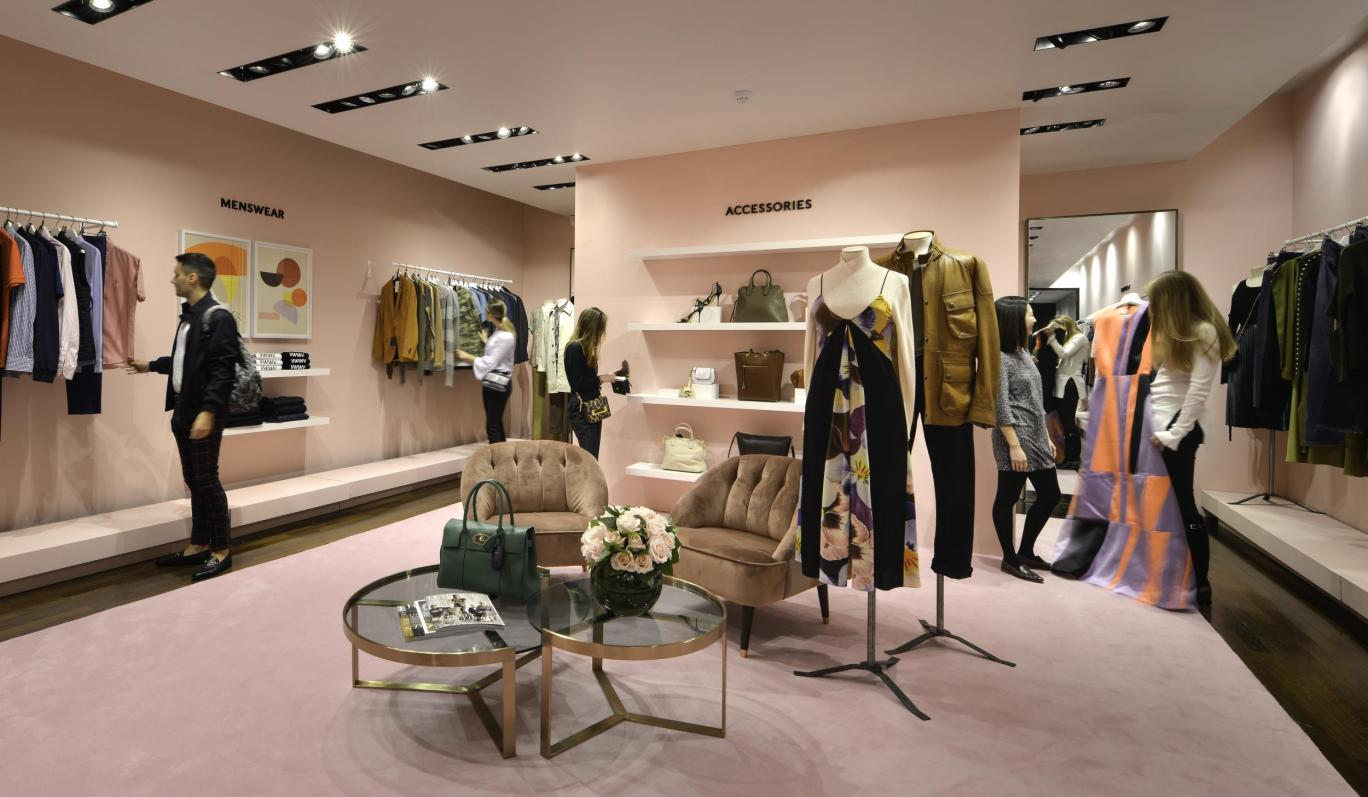 harrods opens charity shop on sloane street the industry. Black Bedroom Furniture Sets. Home Design Ideas