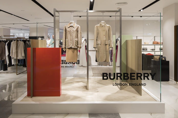 Harvey Nichols Burberry