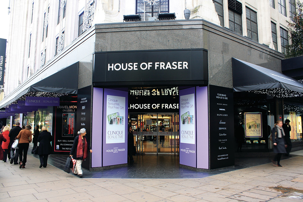 House of Fraser to close more than half of its stores including Oxford Street