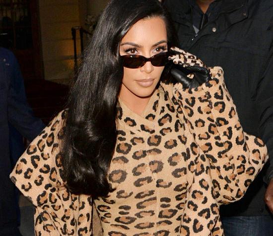 Kim Kardashian in vintage Alaia