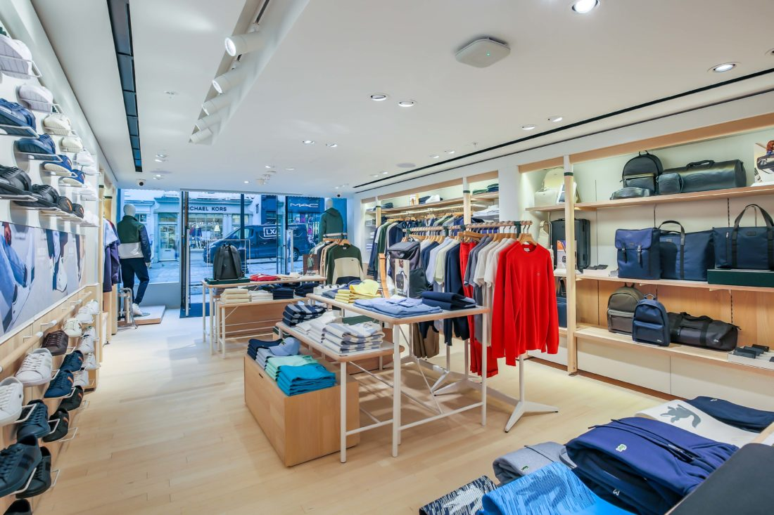 online retailer 278f4 89f7c Lacoste continues retail expansion with new Sheffield store ...