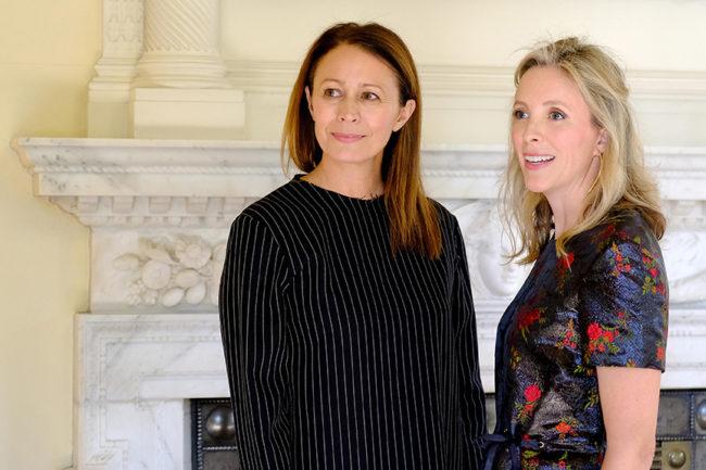 Caroline Rush and Stephanie Phair
