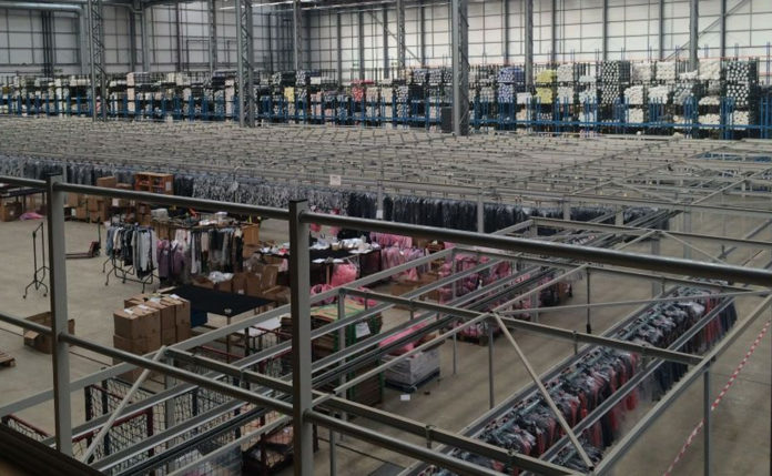 Distribution centre UK