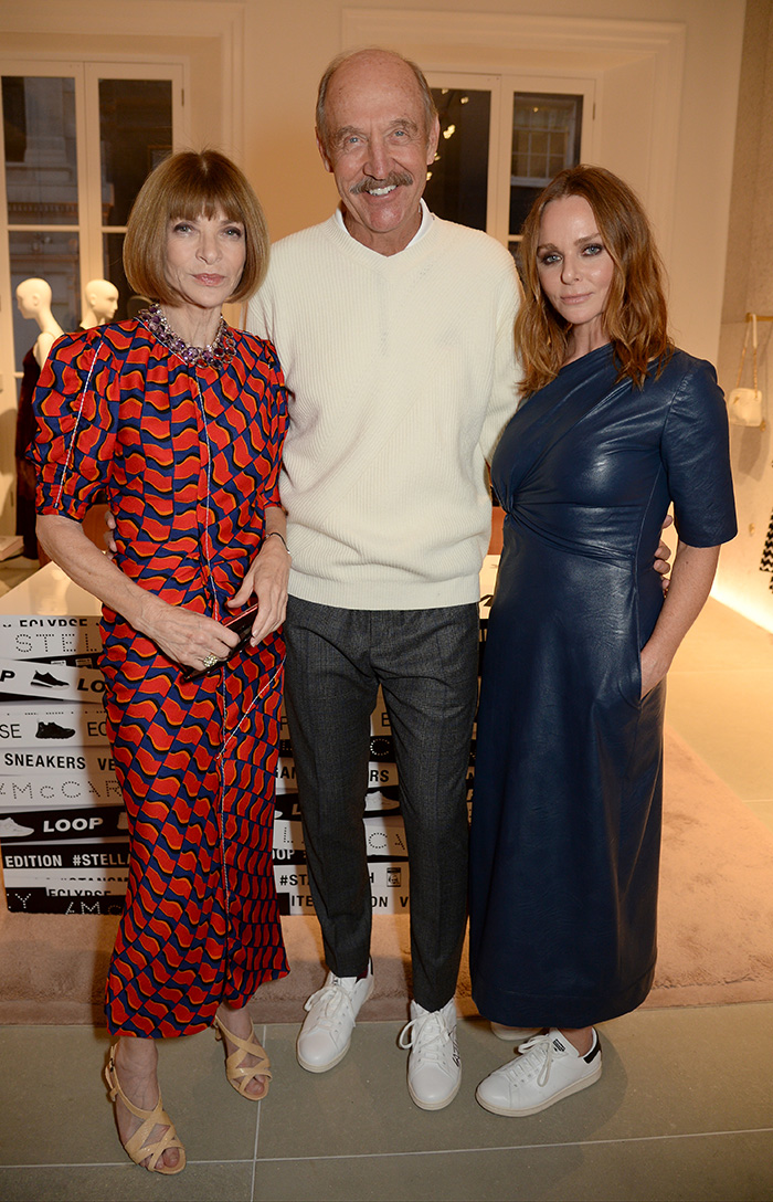 Anna Wintour, Stan Smith and Stella McCartney