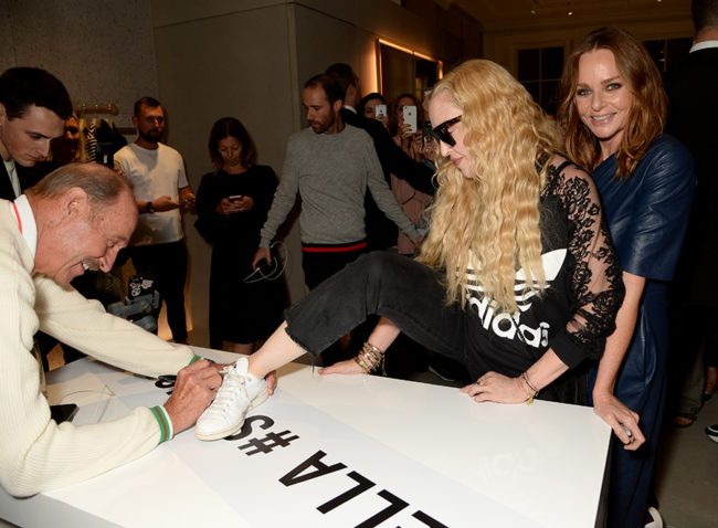 Stan Smith, Madonna and Stella McCartney