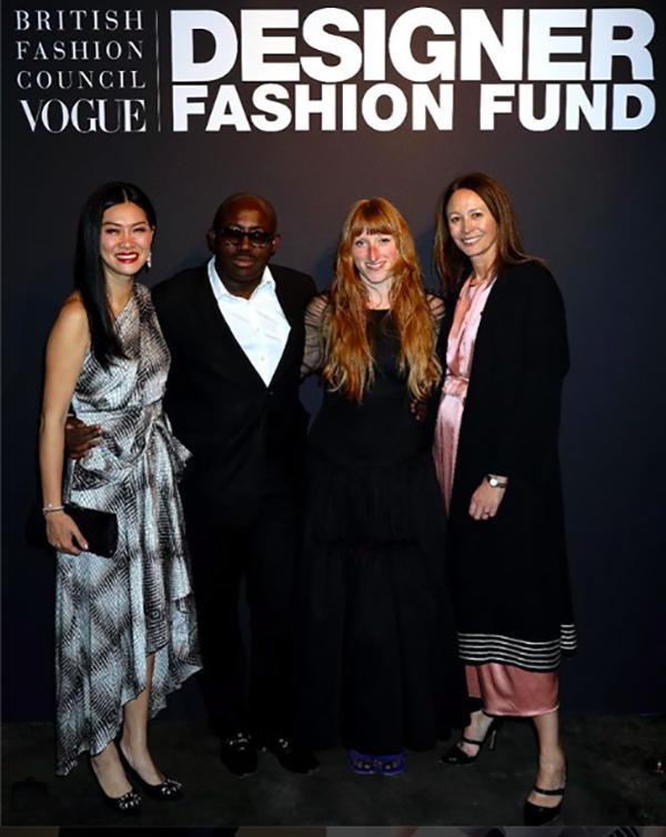 Molly Goddard Wins Bfc Vogue Designer Fashion Fund Theindustry Fashion