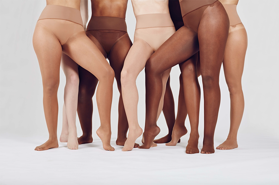 a7ce26c30f1b1 Heist uses crowdsourced data to create new nude shades of tights ...