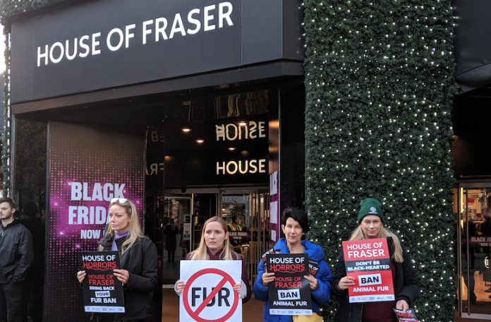 House of Fraser Protests