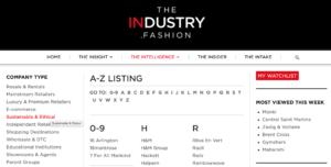 Sustainable fashion the intelligence