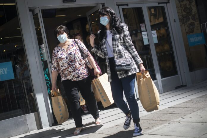 Retail face masks