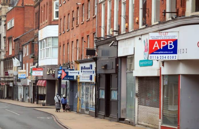 Retail business rates high street