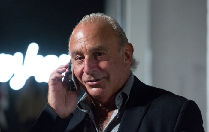 Sir Philip Green Topshop