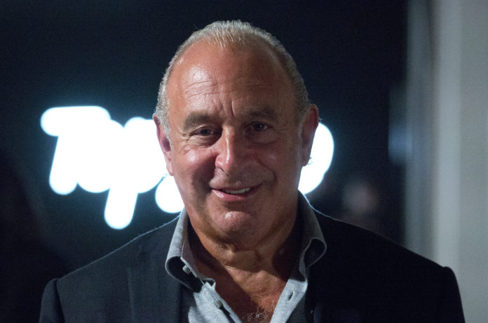 Arcadia Sir Philip Green