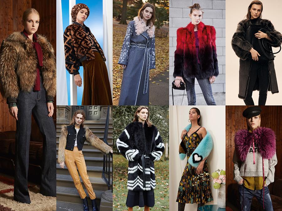 DSquared, Fendi, Cinq à Sept, Just Cavalli, Amanda Wakeley, Cinq à Sept, Givenchy, Fendi, DSquared