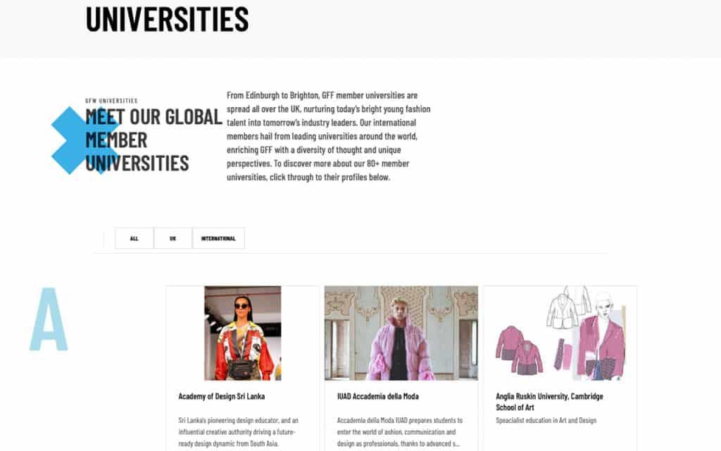 GFF website