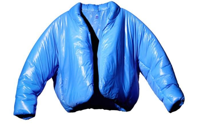 Gap Yeezy blue jacket