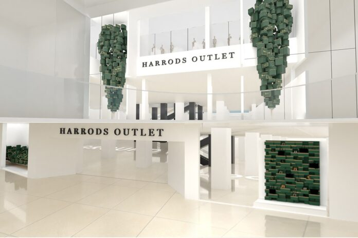 Harrods Outlet concept art