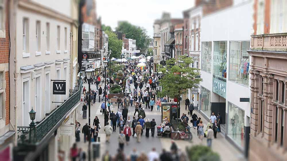Retail sales High street, independents, retail