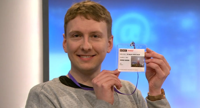 Joe Lycett (Hugo Boss)